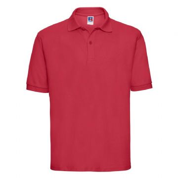 NOSS PRIMARY SCHOOL CLASSIC RED POLO SHIRT WITH LOGO